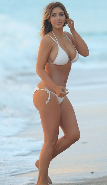 kim-kardashian-post-pregnancy-bikini-body-beach-nude-naked-surgery-implants-gossip-news-weight-miami-2013