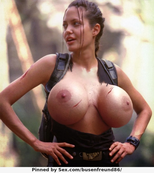 Angelina jolie bare boobs