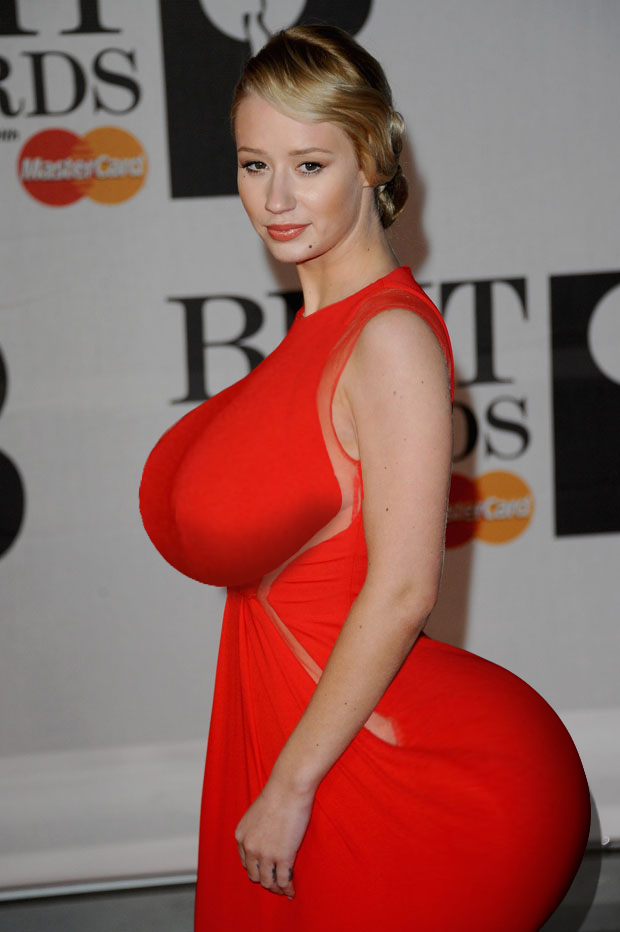 LONDON, ENGLAND - FEBRUARY 19:  Iggy Azalea attends The BRIT Awards 2014 at 02 Arena on February 19, 2014 in London, England.  (Photo by Anthony Harvey/Getty Images)