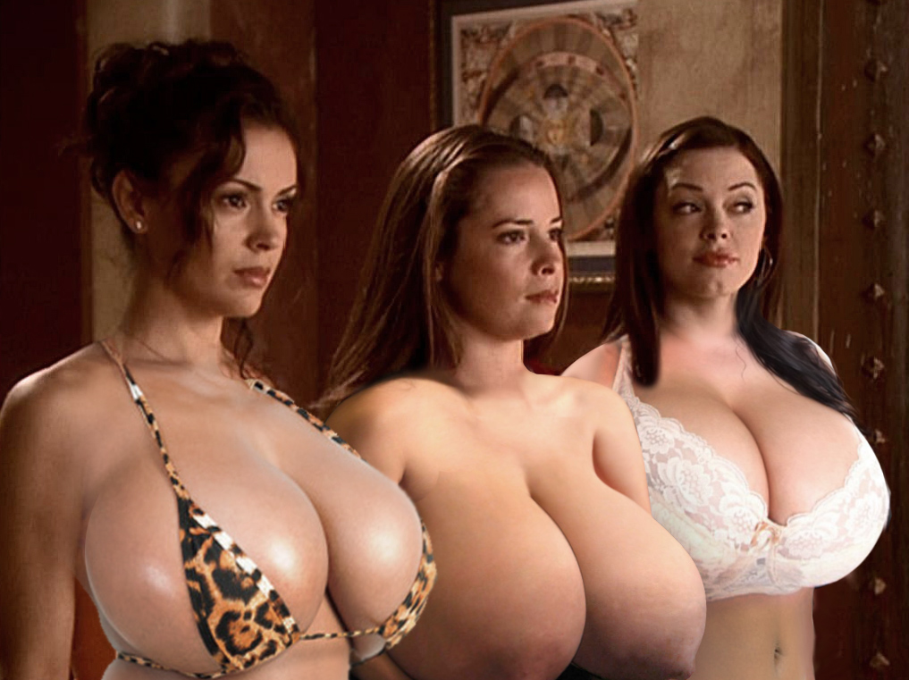 nude pic of the girls from charmed
