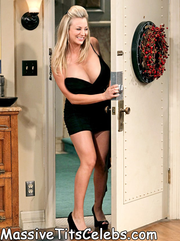 Kaley-Cuoco-Tits-Boobs-door