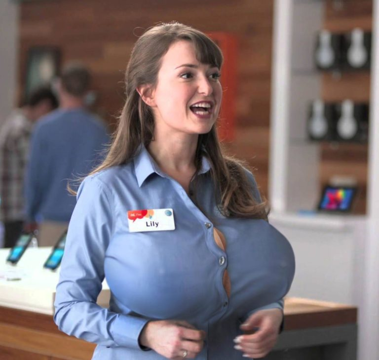 Milana Vayntrub Lily from the AT&T commercials - Big