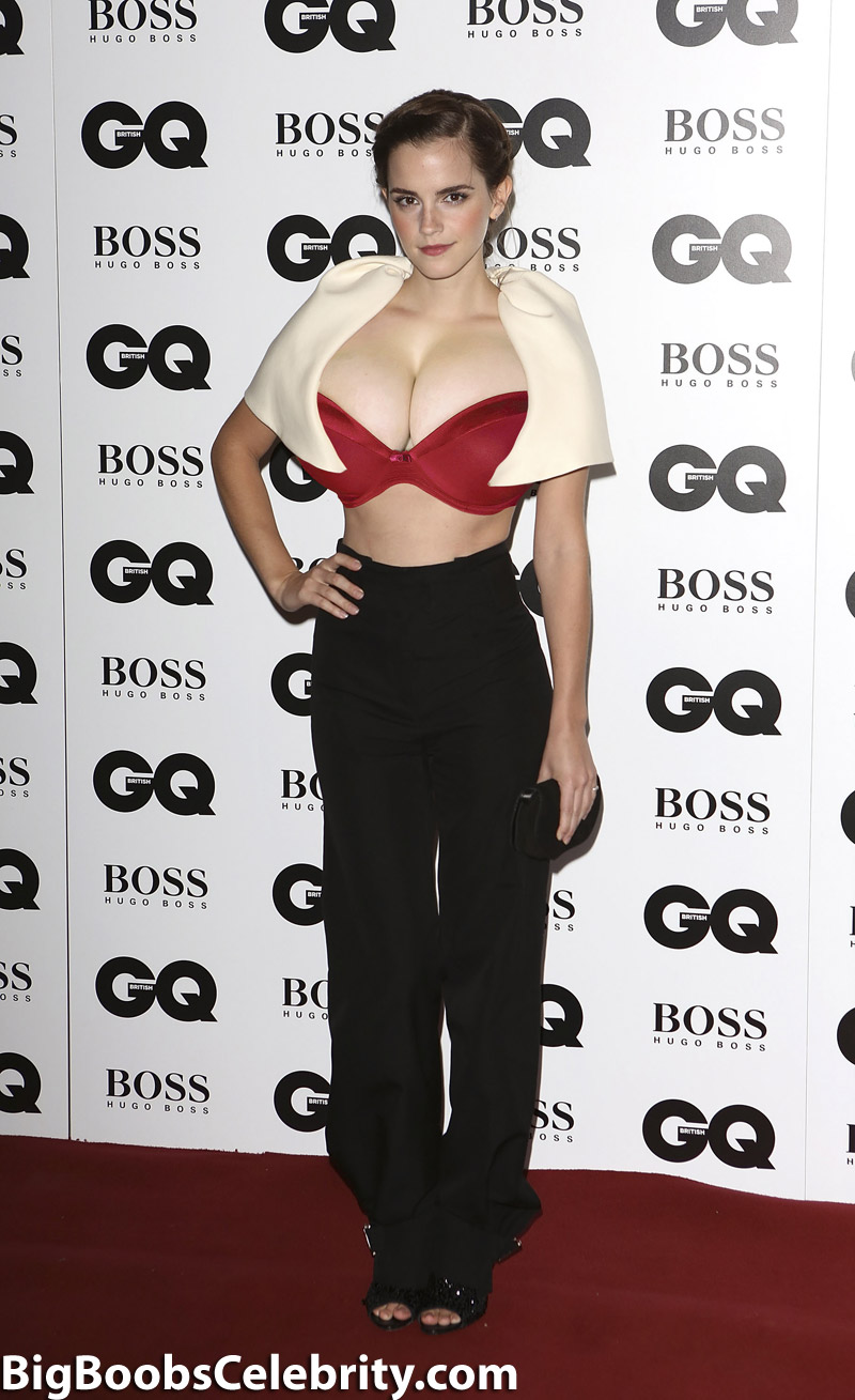 Have Emma watson nude fakes big tits consider, that