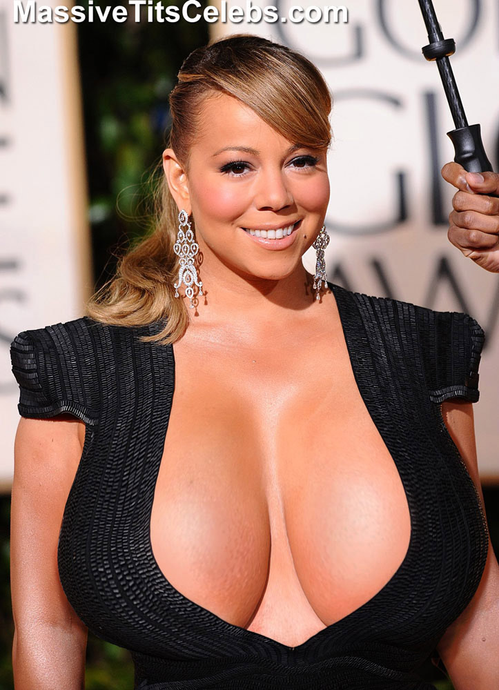 Mariah carey naked boobs