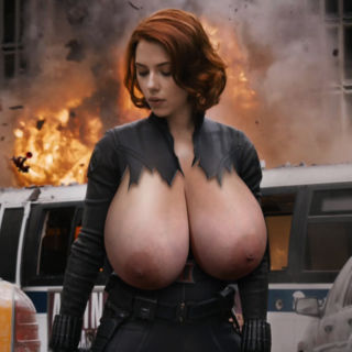 Actress huge boobs