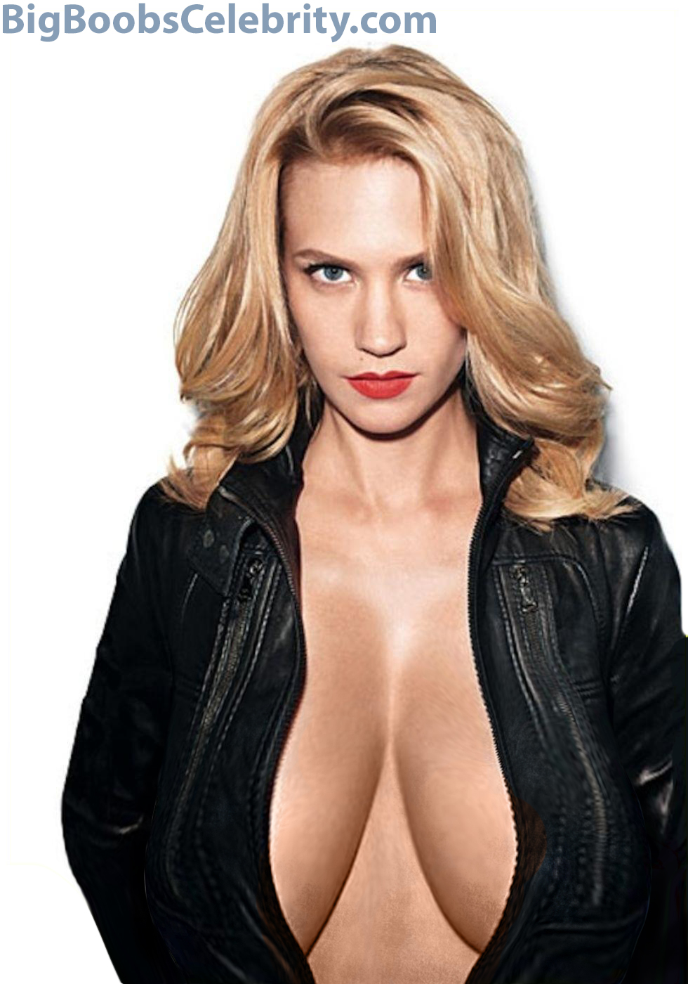 Hot blonde breast expansion