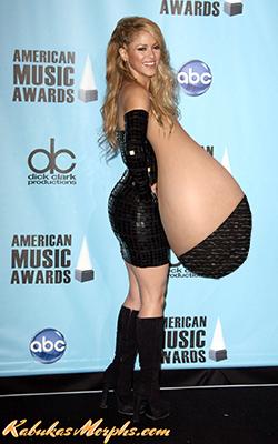 Tits shakira Shakira Nude